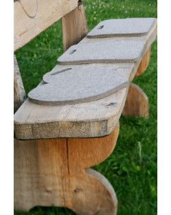 Haunold seat pads in different shapes: round, square, with or without handle