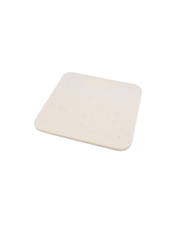 Seat pad Mini of Haunold fulled felt, approx. 1 cm thick, natural white