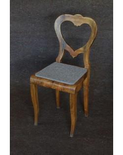 Haunold Sitzkissen aus reiner Schurwolle, ungefärbt und naturbelassen