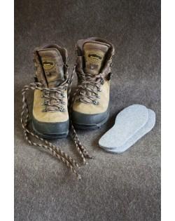 Queste solette sono alte di circa 5 mm e si addicano a tutti i tipi di scarpe e scarponi