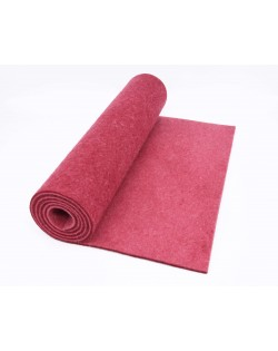 Runner da Tavolo Haunold in pura lana merinos, rosso