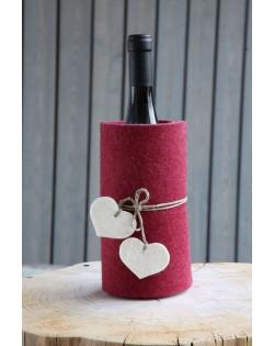 Secchiello per bottiglia Haunold in pura lana merinos isola in modo eccellente