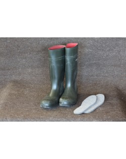 Haunold insoles for boots, of pure virgin wool, breathable and warm